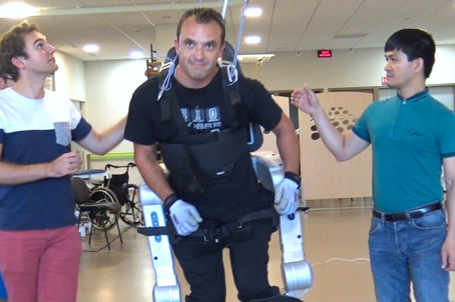 paraplegique remarche